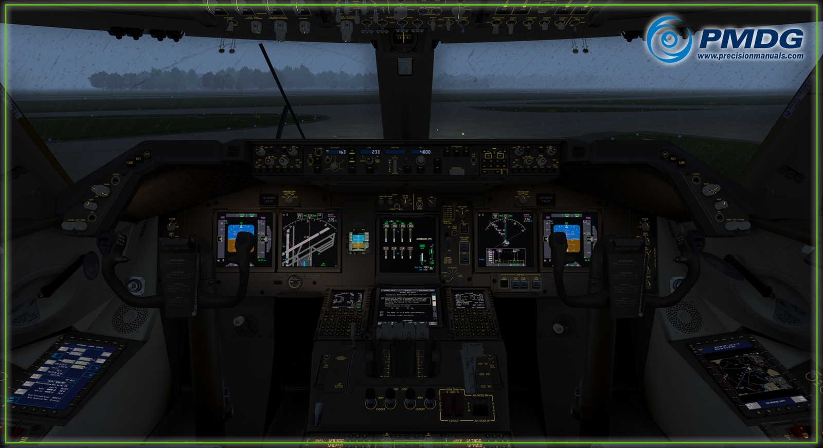 UPDATE: [NEW INFO] PMDG Previews New Shot of the 747-8 – EFB
