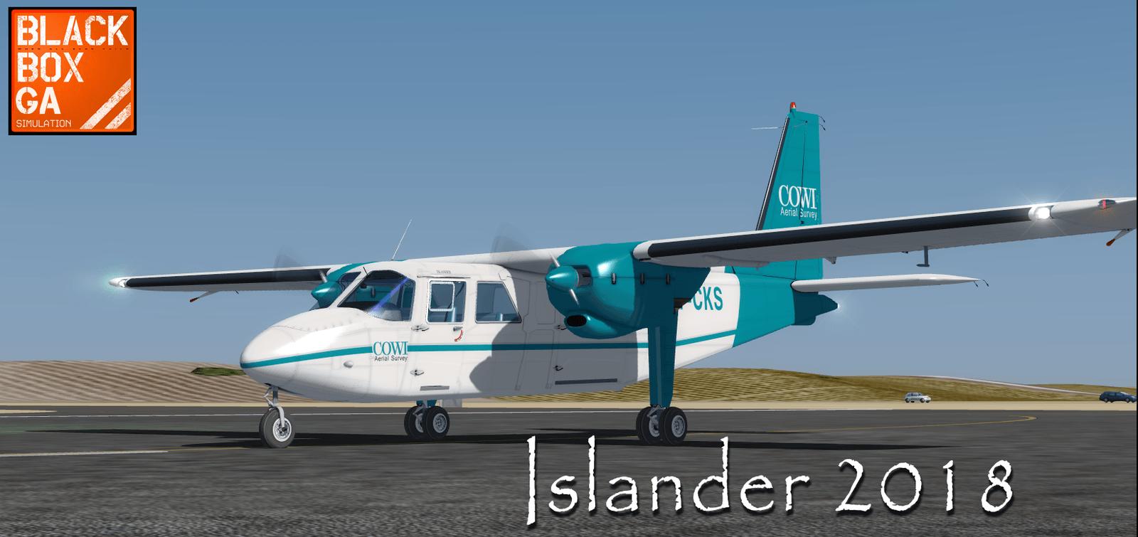Black Box Islander Aircraft 23