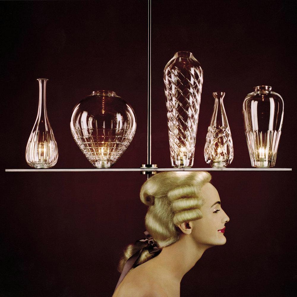 有著法國巴洛克華麗外型的裝飾性燈具設計「CICATRICES DE LUXE 5」。pic via starck.com