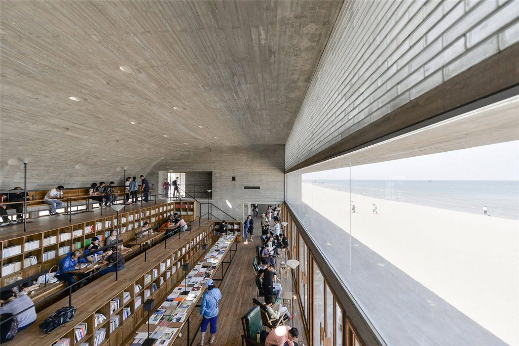 海邊圖書館