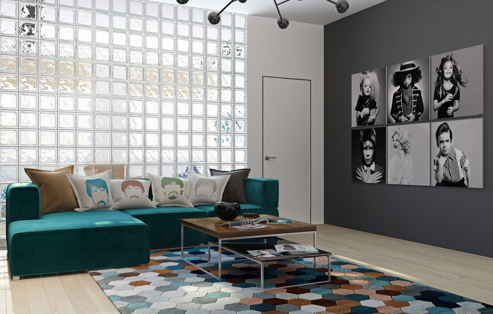 music-inspired-living-room
