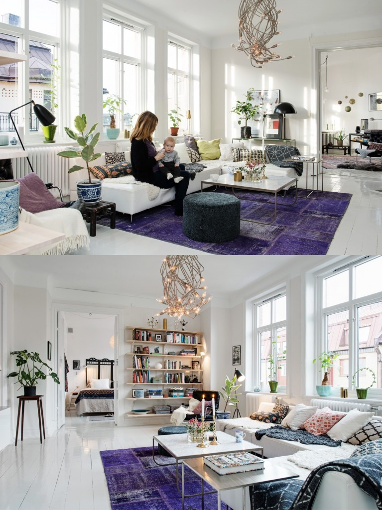 bright-purple-area-rug
