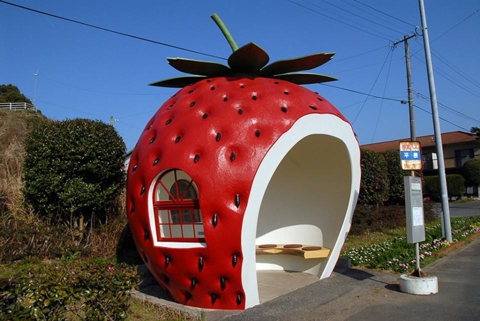 水果候車亭