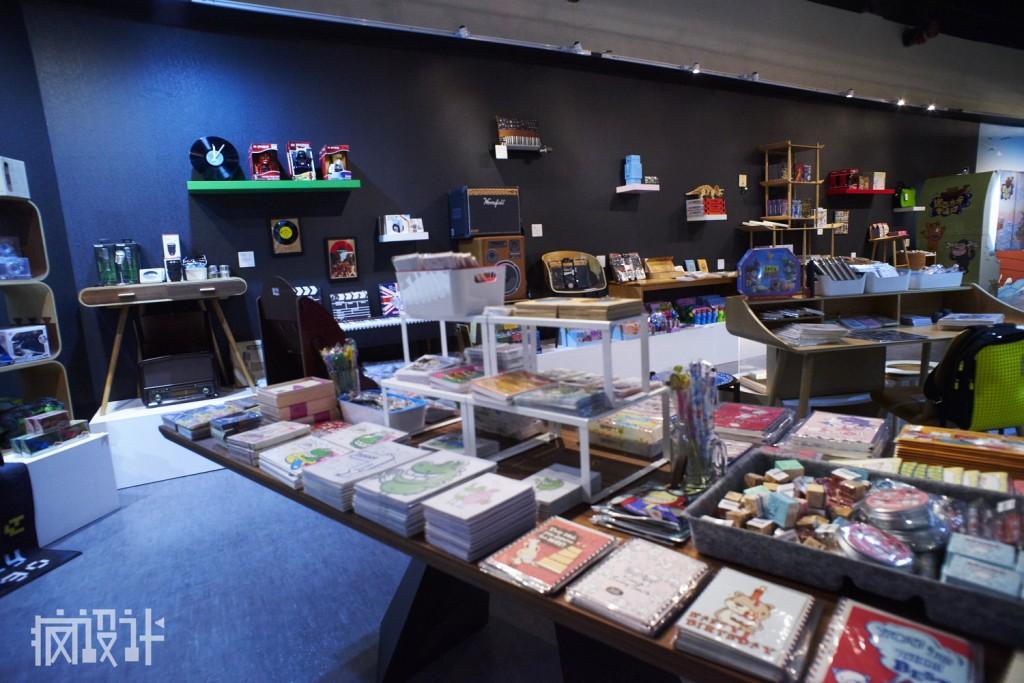 rsz_09圖說:史上最有文創感的特展商店,高美學品位的擺設,令在場貴賓紛紛驚呼!