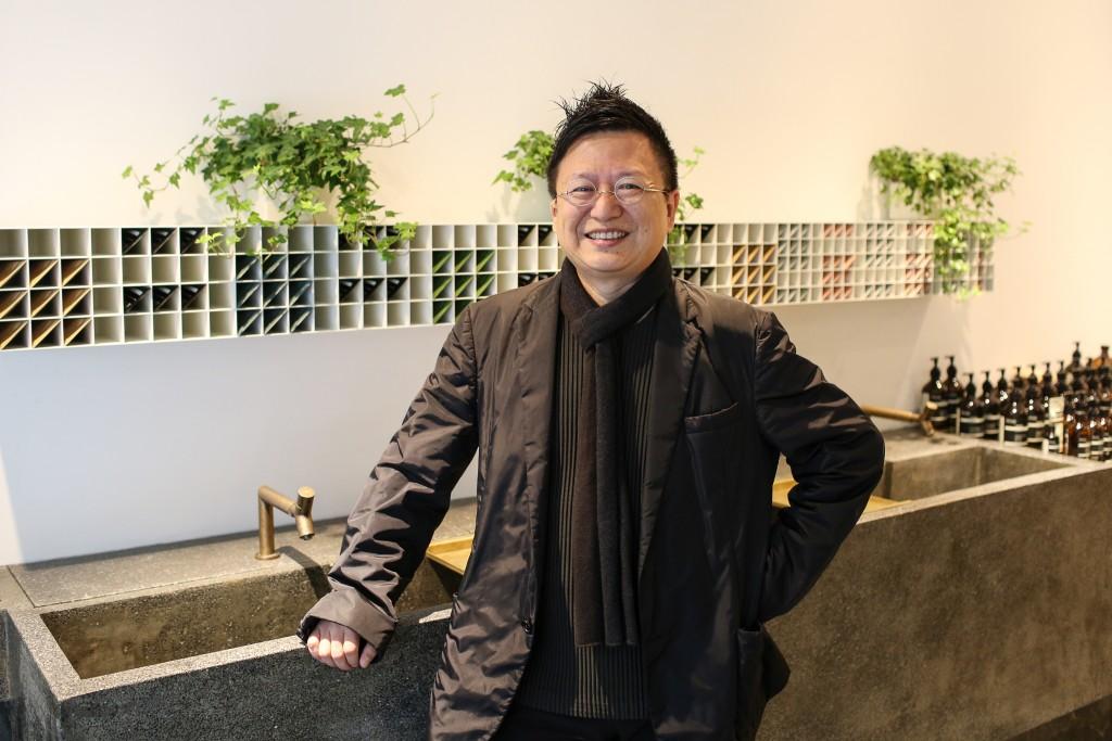 【0114 Aesop 忠孝概念店開幕酒會 新聞資料】設計師 陸希傑 照片2