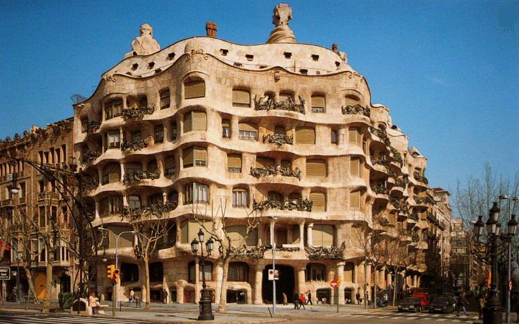 Casa Mila, La Pedrera, Gaudi, Unesco WHS, November RR from jordi