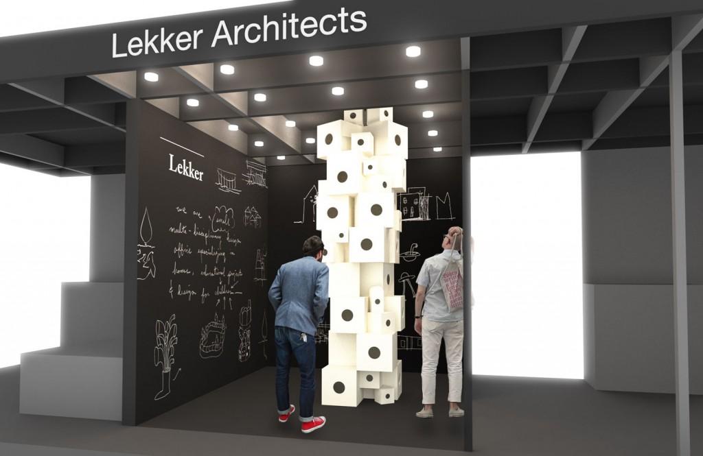 Lekker Architects at M&O ASIA 2016_Image courtesy of Lekker Architects