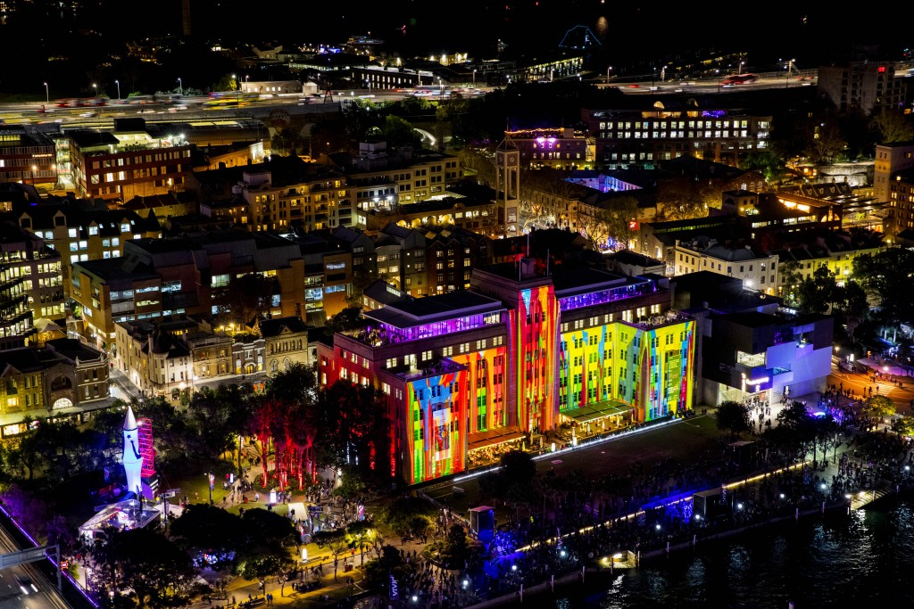 Vivid Sydney 2016, opening night, MCA, The Matter of Painting. 27/5/2016 Photo credit - James Horan/Destination NSW