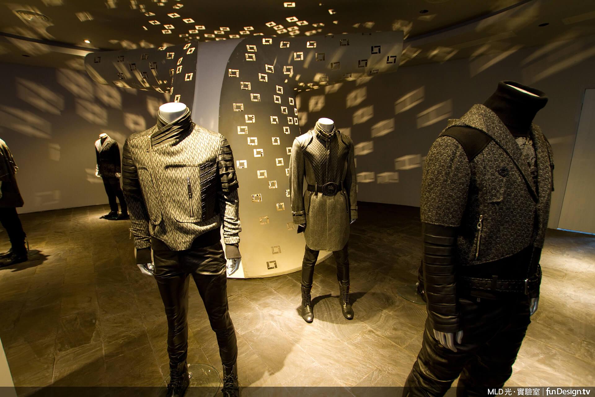 注重照明設計的業主,借助MLD 光•實驗室之力,突出服裝品牌的時尚品味。