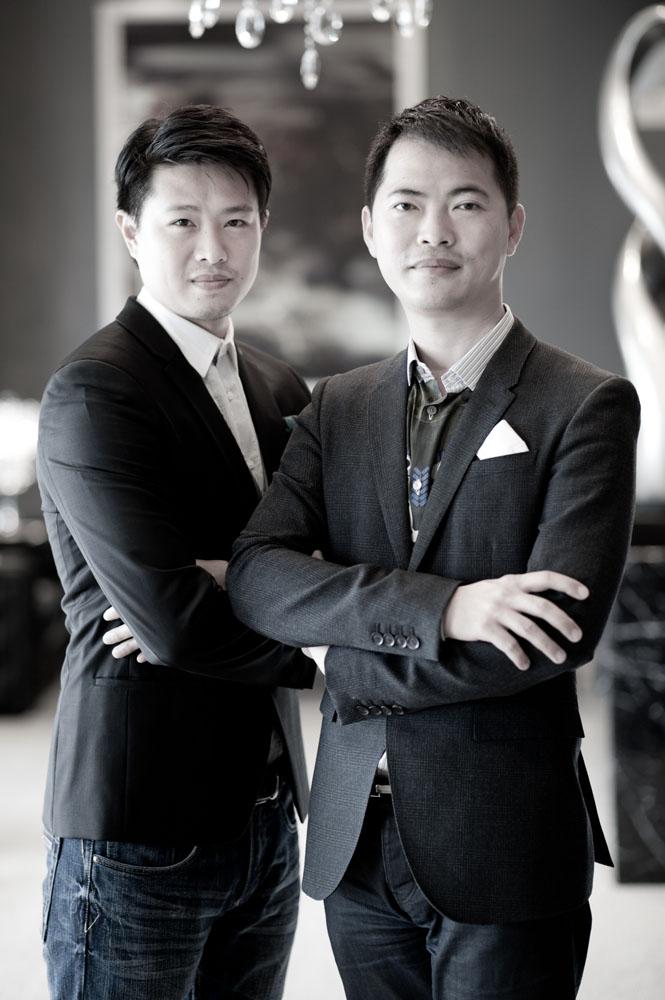 設計師楊煥生、郭士豪