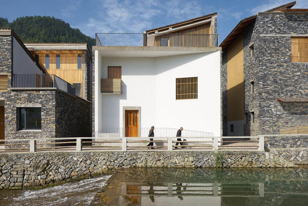 浙江 文村計畫。pic via zensic
