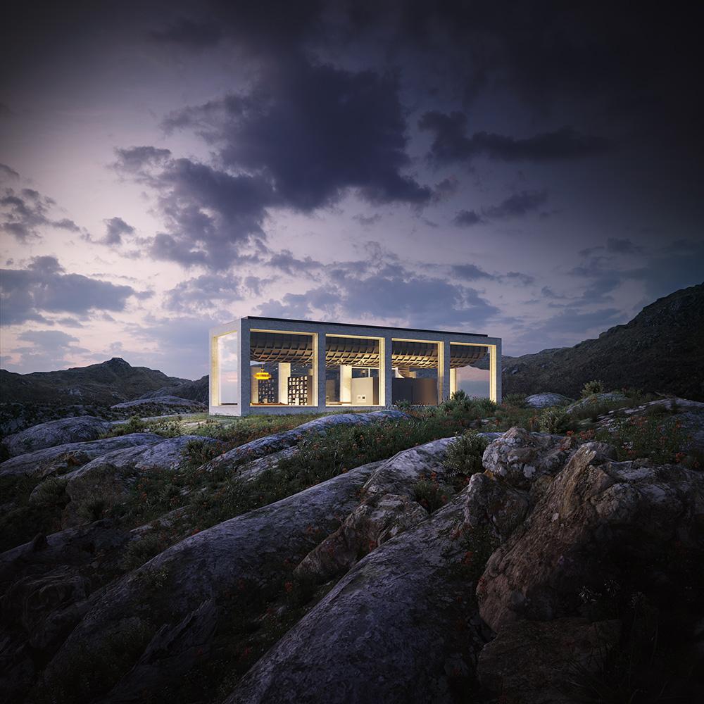 泳池設計挪威住宅