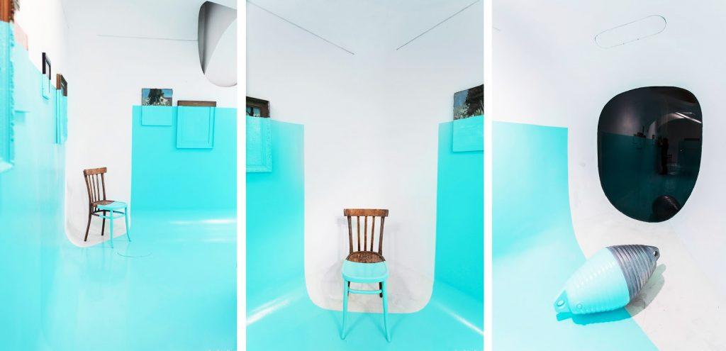 Davide Delia的Tiffany Blue裝置藝術