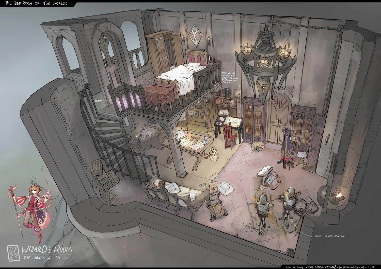 Generic Fantasy Concept Art