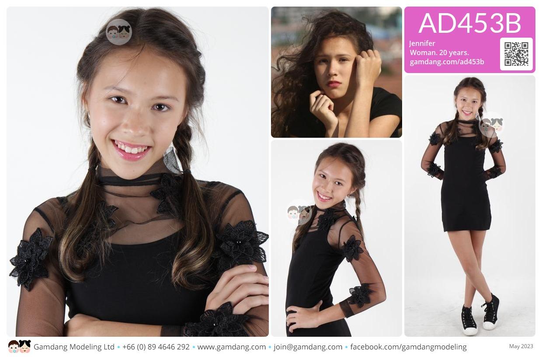 Jennifer - AD453B | Our Models | GamDang Modeling Agency