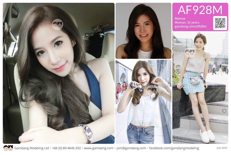 Mamae - AF928M | Our Models | GamDang Modeling Agency, Thailand