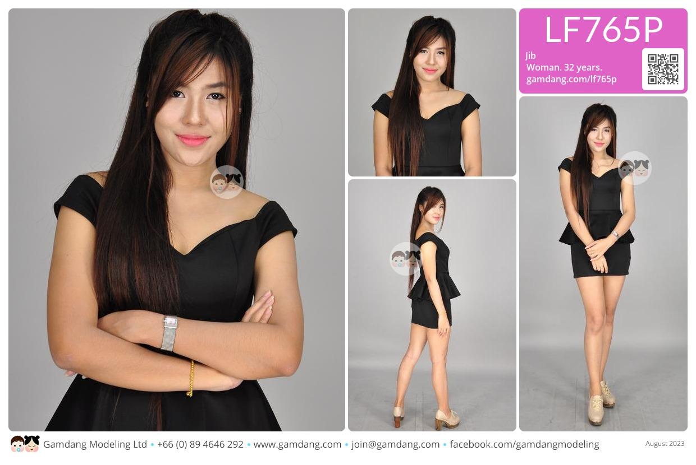 Jib - LF765P | Our Models | GamDang Modeling Agency, Thailand