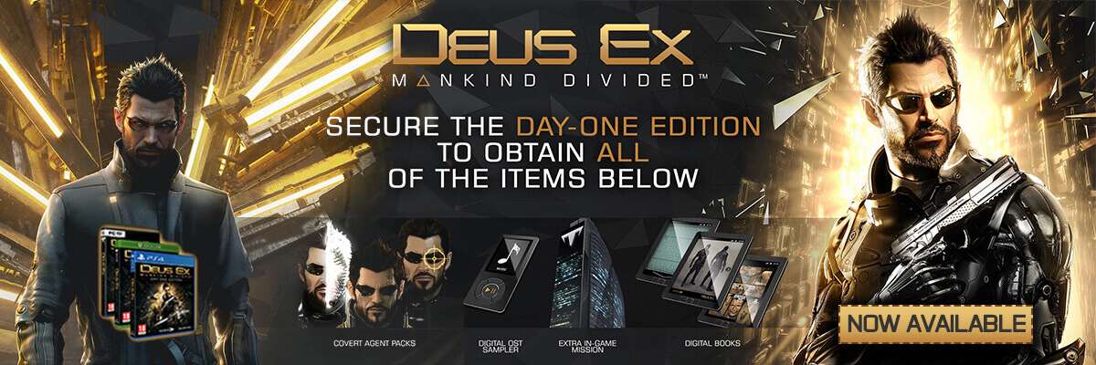 deus ex mankind divided day 1 edition