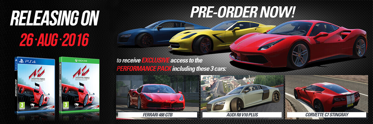 assetto corsa game pre-order ps4 xbox one