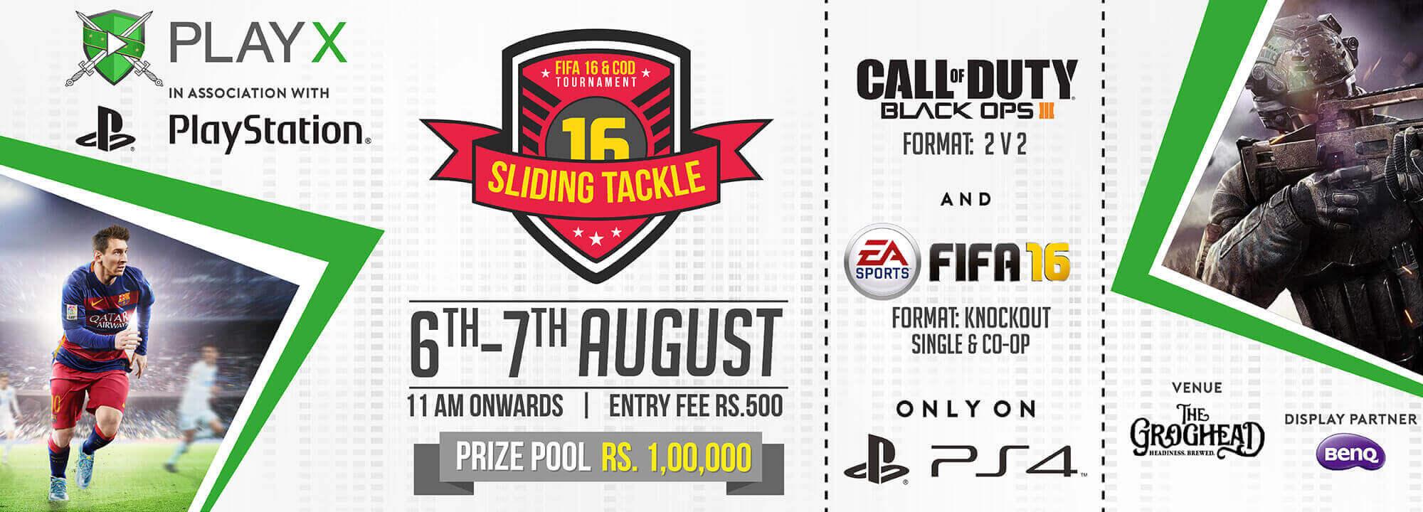 Offline gaming tournament PlayX