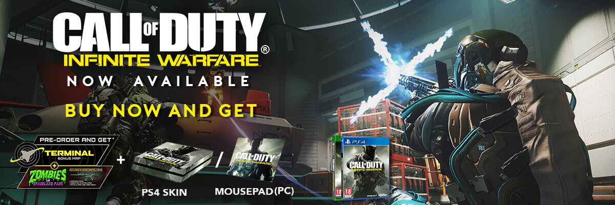 call of duty infinite warfare now available