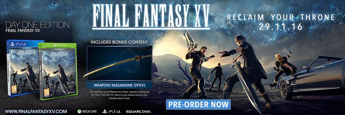 pre order final fantasy xv