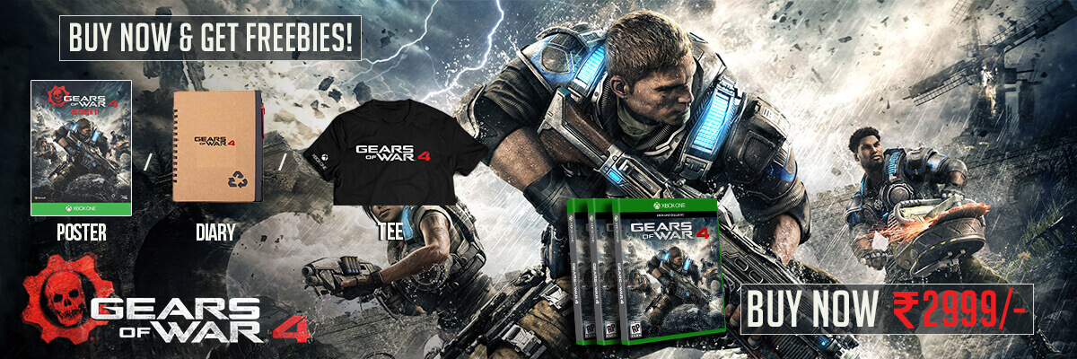 gears of war 4 xbox one with free gifts