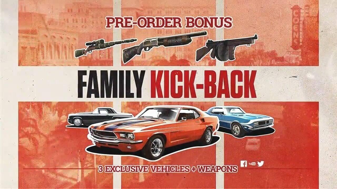 mafia iii pre-order bonus