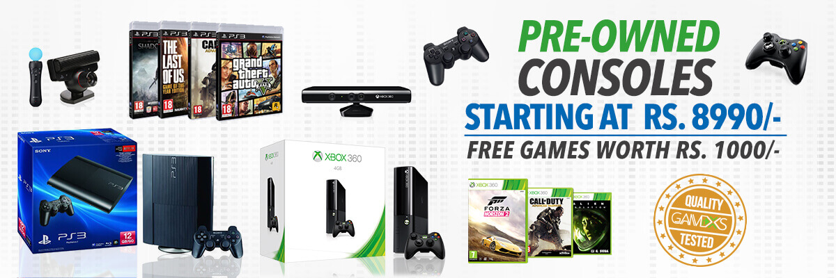 buy pre owned console at lowest price