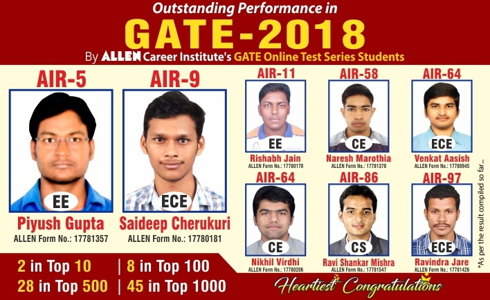Gate Result 2019 Date Pinterest: GATE 2019 Online Test Series