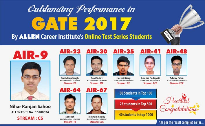 Gate Results 2019 Wikipedia: GATE 2019 Online Test Series