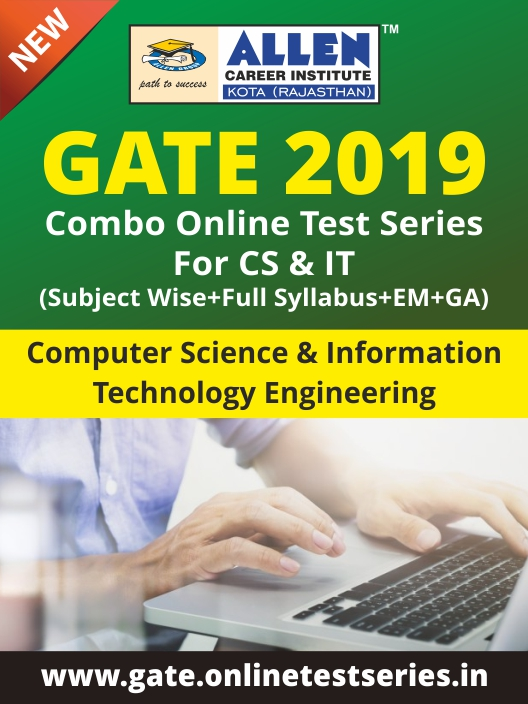 Combined GATE Online Test Series for Computer Science and Information Technology