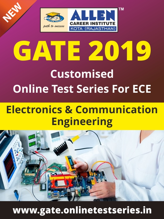 Customized GATE Online Test Series for Electronics and Communication Engineering