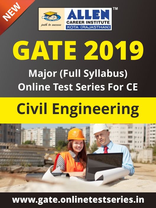 Full GATE Syllabus (Major) Online Test Series for Civil Engineering