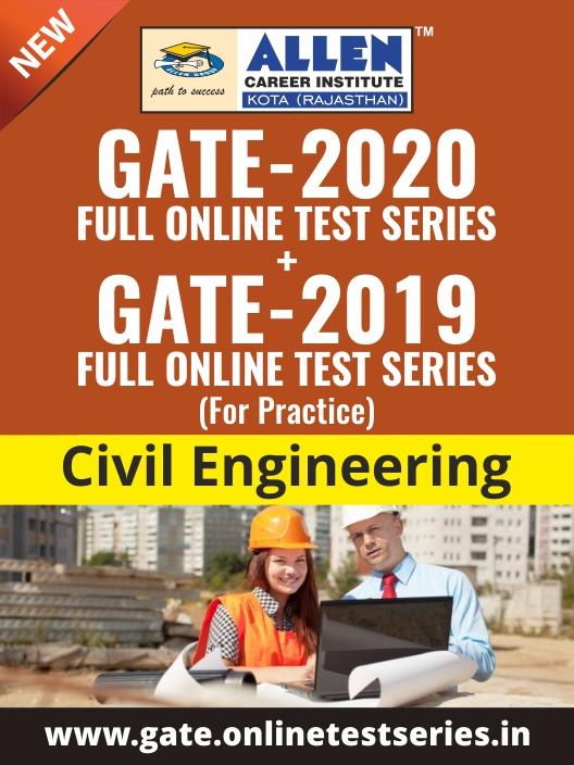 Combined GATE Online Test Series for Civil Engineering
