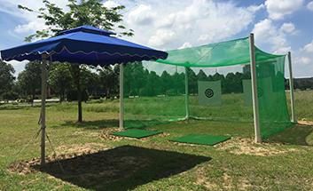 簡易ゴルフ練習場