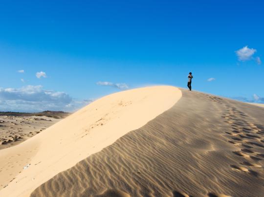 เที่ยวทะเลทราย ไม่ต้องไปไกลถึงดูไบ เวียดนามก็มีนะยู