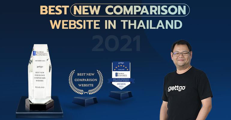 gettgo คว้ารางวัล Best New Comparison Website in Thailand 2021