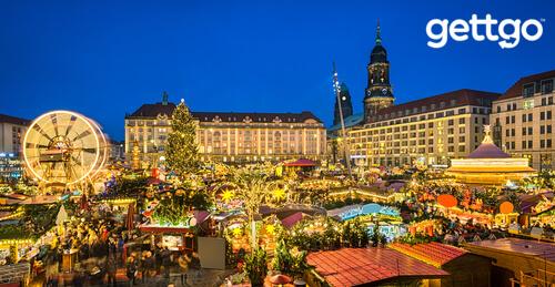 Striezelmarkt, Dresden, Germany
