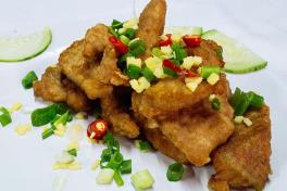 Salted Egg Pork 咸蛋猪肉 (Small 小) ⭐