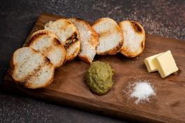 FRESH KAYA ON TOASTED BAGUETTE 烤面包咖椰 ⭐