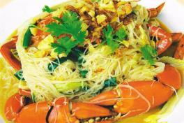 龍記米粉蟹 Long Ji Bee Hoon Crab  ★
