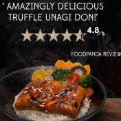Truffle Unagi Don Lunch Set 松露烧烤鳗鱼丼 套餐