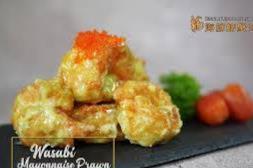 芥末虾球 Wasabi Mayonnaise Prawn