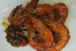 干煎虾 - Superior Soya Sauce Prawn🌶️ 👍