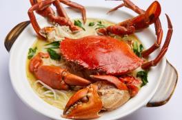 砂煲螃蟹米粉汤 - Claypot Crab Beehoon Soup 👍