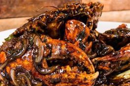 黑胡椒螃蟹 - Black Pepper Crab 👍🌶️