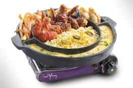 CP04 Wings Cheese Pot