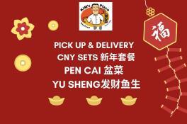 CNY PICKUP & DELIVERY SET MENU / PEN CAI & YU SHENG 2021