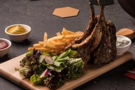 Chargrilled Lamb Rack